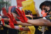 """""""O amanhã da Amazônia é agora"""": mobilizações pelo país denunciam violações contra os povos da floresta"""